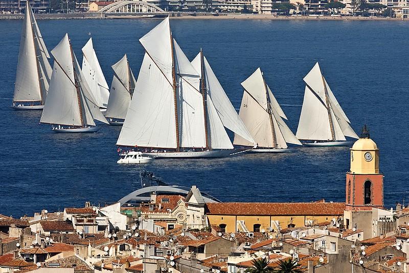Saint-Tropez: feu vert pour les voiles!